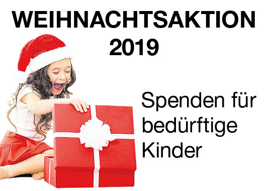 WZ-Weihnachtsaktion: Weihnachtsgeschenke für bedürftige Familien