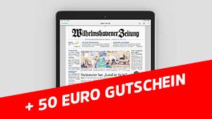 """WZ ePaper plus """"50 € Gutschein"""" nach Wahl"""